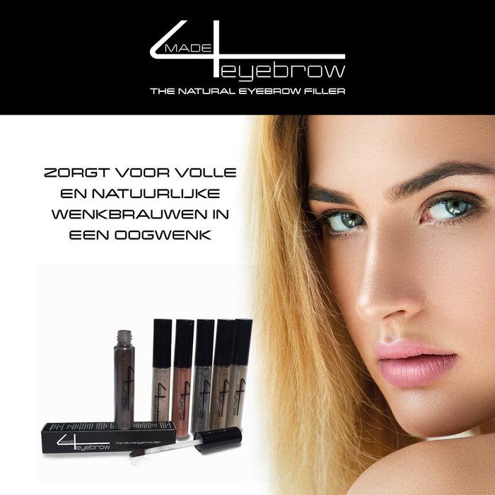 aanbieding Made4eyebrow The Natural eyebrow filler + Made4lashes 3D fiber Mascara