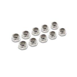 5_Compass Heli Nylon Lock Nuts M4   91-0004    Nylon Lock Nuts M4, 10 pcs/bag