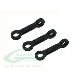 SAB Goblin Helicopters Plastic Servo Linkage - Goblin 380 / 420  H0524-S