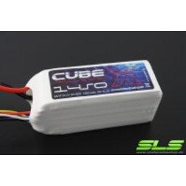 4_SLS Batteries SLS X-CUBE 1450mAh 6S1P 22,2V 30C/60C       SLSCUX14506130