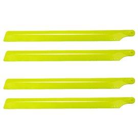 1_Oxy Heli Plastic Main Blade 210mm, 2 set, Yellow           SP-OXY2-147