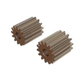 1_Oxy Heli OXY2 - Straight Pinion 13T, 14T - 2mm Motor Shaft  SP-OXY2-140
