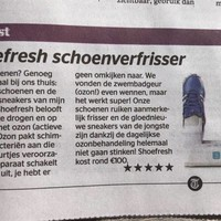 Shoefresh krijgt 5 sterren in De Telegraaf