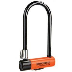 Kryptonite Kryptonite Evolution Series 4 U-lock with FlexFrame bracket, Sold Secure Gold