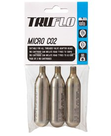 Truflo CO2 Refill 16g Cartridges, 3 Pack
