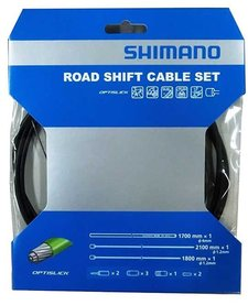 Shimano Optislick 4700/5800 Gear Cable Set, Black