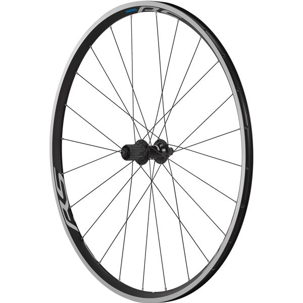 Shimano Wheels Shimano WH-RS100 Clincher Rear Wheel, 130 mm Q/R Axle