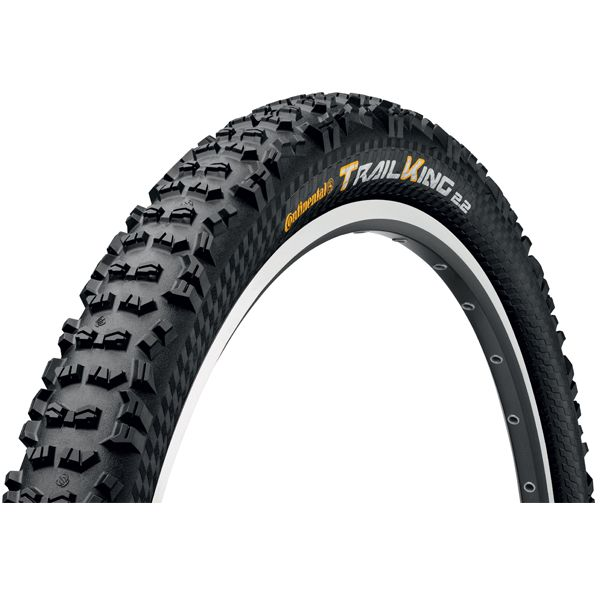 """Continental Continental Trail King 27.5 x 2.4"""" ProTection, Black Chili"""