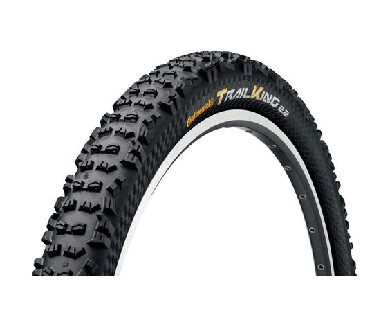 "Continental Continental Trail King 27.5 x 2.2"" ProTection, Black Chili"