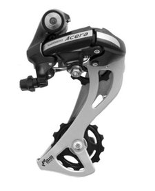 Shimano Acera M360 7/8 Speed Rear Derailleur, Black