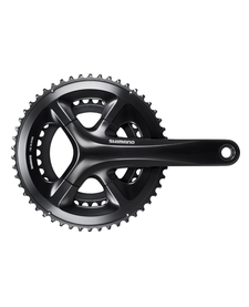 Shimano FC-RS510 Chainset, 50/34,  172.5mm, Black