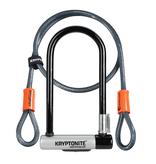 Kryptonite Kryptolok U-Lock & Kryptoflex Cable - Sold Secure Gold