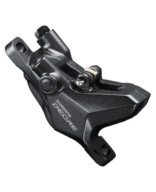 Shimano Deore Hydraulic Brake BR-M6100 2-Pot Calliper Post Mount W/o Adapters Front or Rear