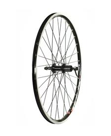 Raleigh Rear Wheel 26'' Deore Hub MX Rim Black - w/braking surface