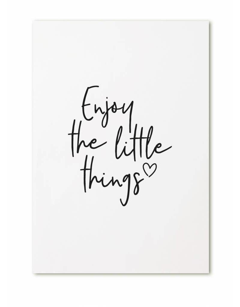 Zoedt Kaart Enjoy the little things
