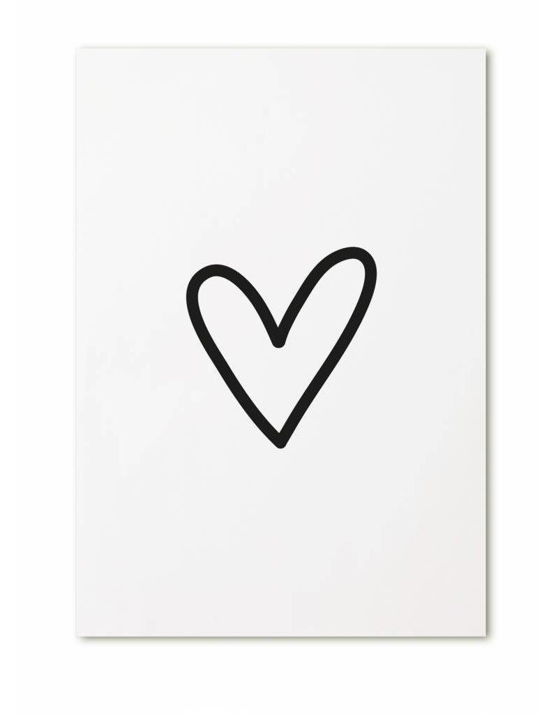 Zoedt Kaartje met hart
