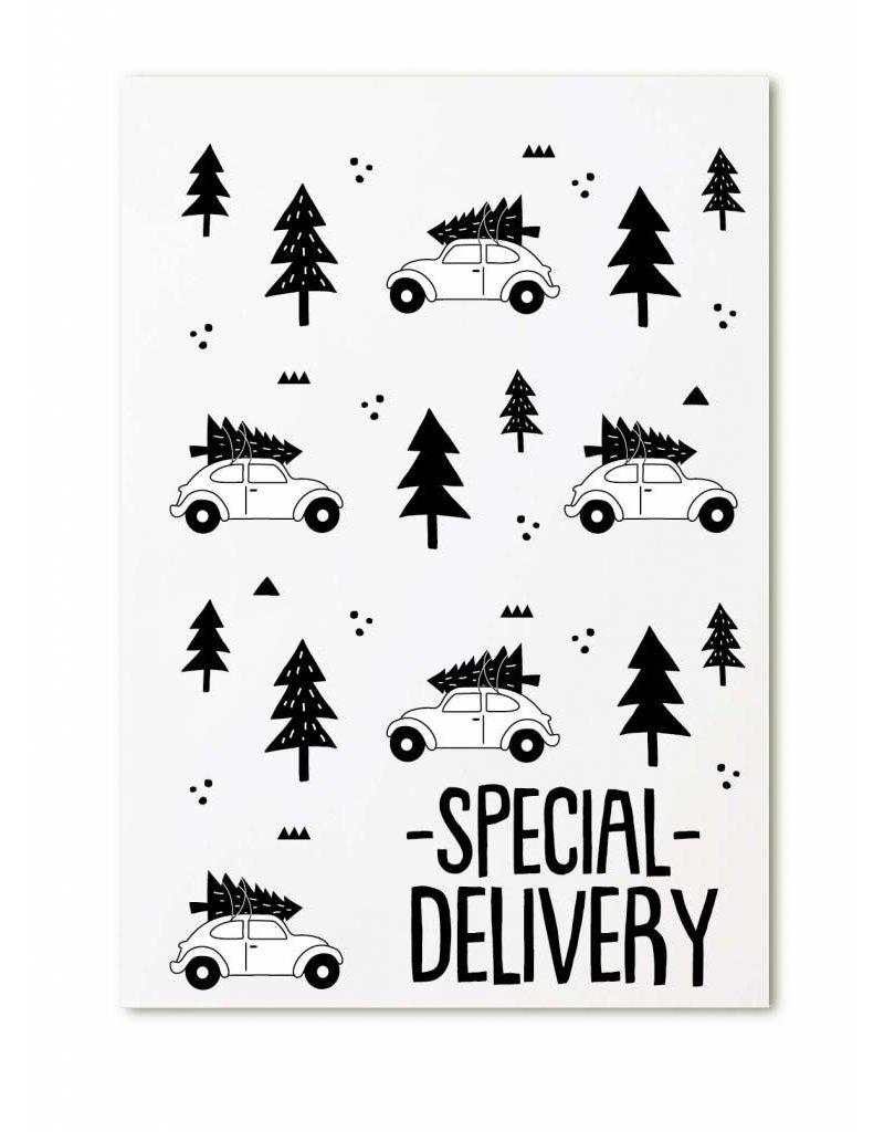 Zoedt Minikaartje  Special delivery