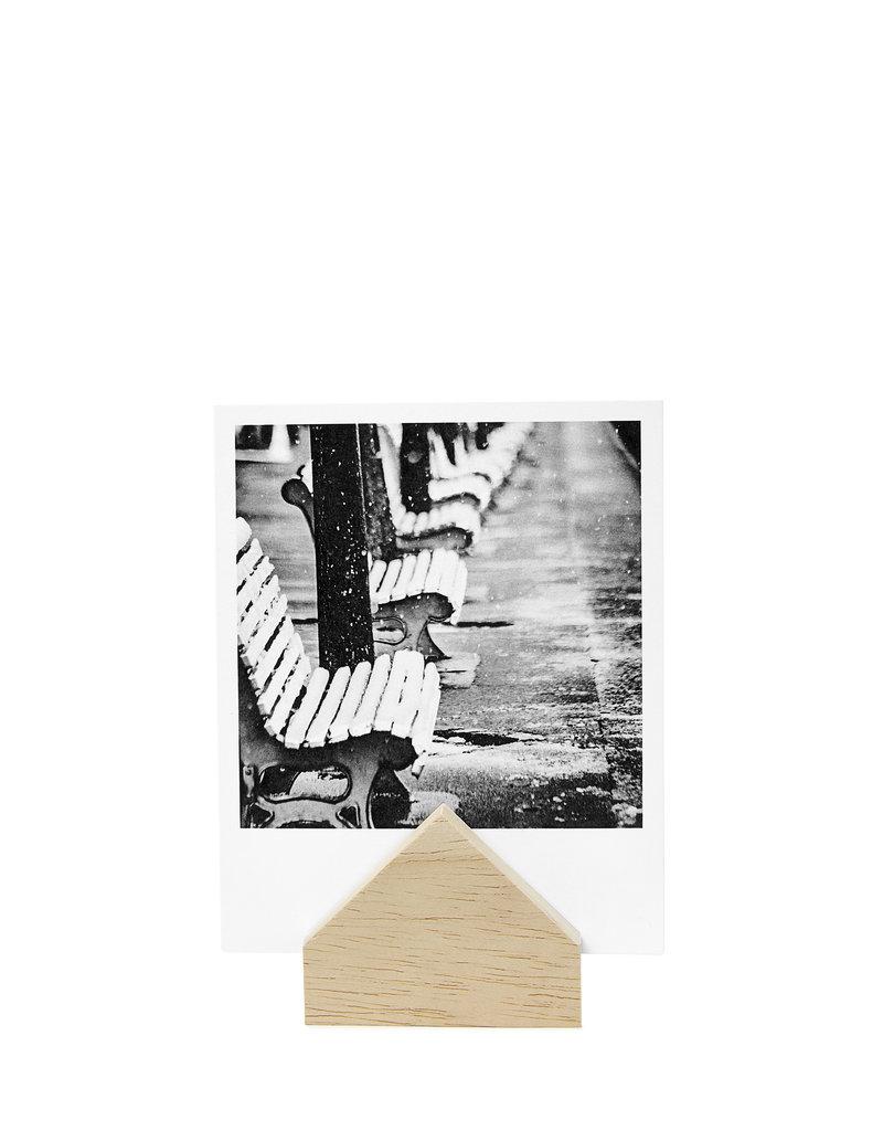 Zoedt Kaartenhouder huisje hout