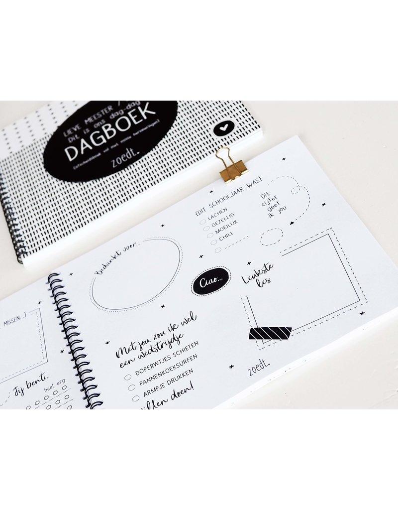 Zoedt Afscheidsboek van kinderen voor juffen en meesters  - LICHT BESCHADIGD