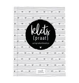 Zoedt Kletspraat - Uitsprakenboekje