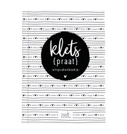 Zoedt Kletspraat - Uitsprakenboekje - LICHT BESCHADIGD
