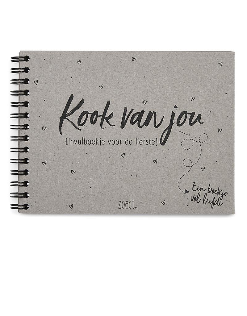 Zoedt Kookvanjou een invulboekje voor de liefste