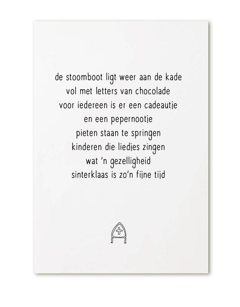 Zoedt Poster A4  Sinterklaas gedicht