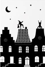 Zoedt Minikaartje Sinterklaas grachtenpanden