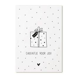 Zoedt Cadeaukaartje 'Cadeautje voor jou'