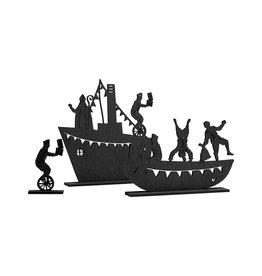 Zoedt Stoomboot met sint en piet