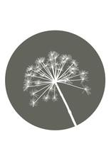 Zoedt Muurcirkel olijfgroen met berenklauw