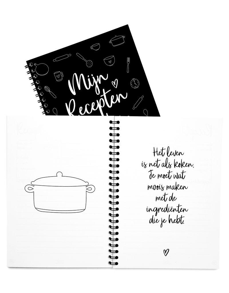 Zoedt Recepten invulboek
