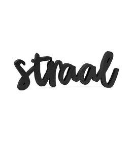 Zoedt STRAAL van  zwart hout - Bestelbaar vanaf week 41/42