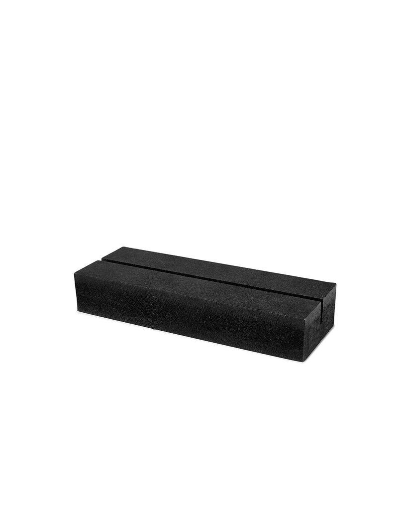 Zoedt Muurcirkel standaard zwart hout -  13cm