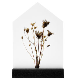 Zoedt Cadeaupakket: Veel beterschap - huisje met droogbloemen