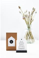 Zoedt Cadeaupakket: Huisje met gedicht  voor de allerliefste moeder in cadeauverpakking