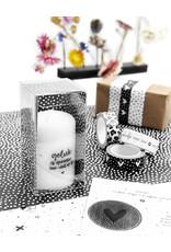 Zoedt Cadeau: mini kaars Geluk is genieten van wat er is in cadeauverpakking