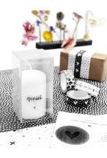 Zoedt Cadeau: mini kaars 'Geniet' in cadeauverpakking