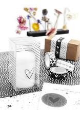 Zoedt Cadeau: mini kaars hartje in cadeauverpakking