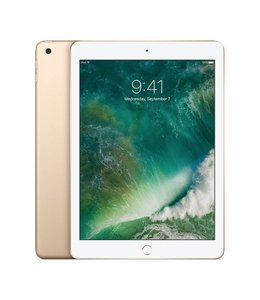 Apple iPad 2017 Goud 128GB 4G