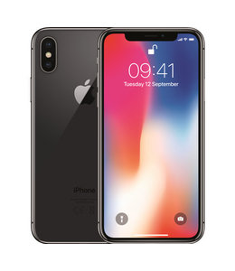 Apple iPhone X Spacegrijs 256GB