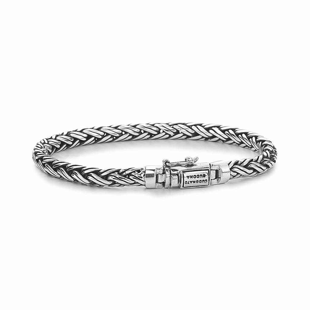 53bc42fce0186c Buddha to Buddha Katja XS zilveren armband (J170) - Mynt