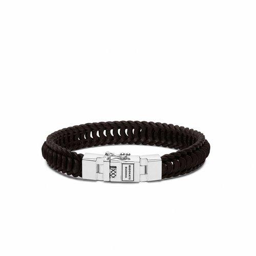 Buddha to Buddha Lars Leather Brown Armband 187BR