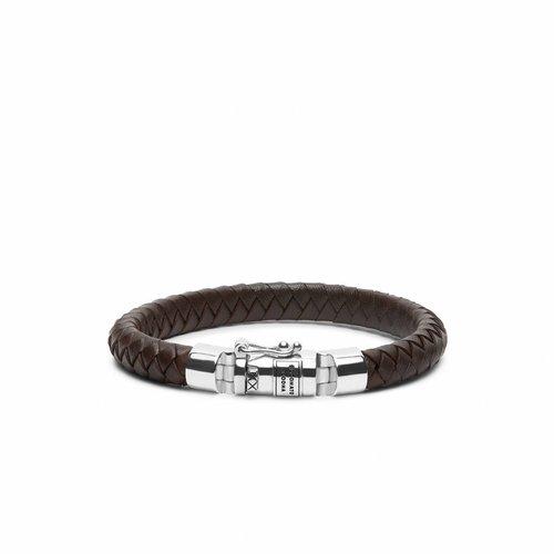 Buddha to Buddha Ben Small Leather Brown Armband 180BR