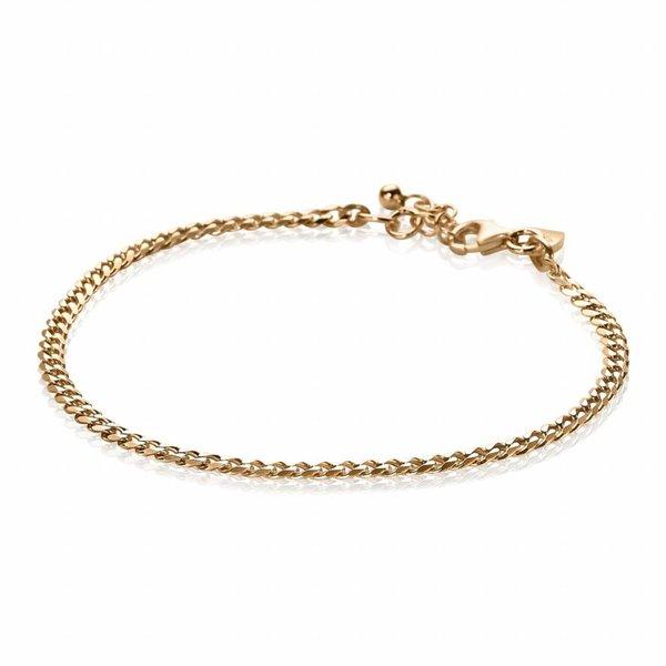 Rosegoud vergulde zilveren armband (ZIA1418R)