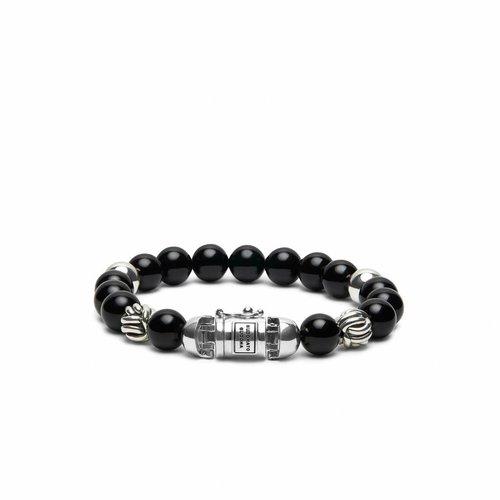 Buddha to Buddha Spirit Bead Onyx Armband 188ON