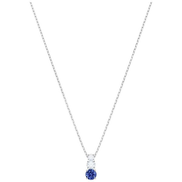 Attract Trilogy Ketting Round 5416156 - Blauw