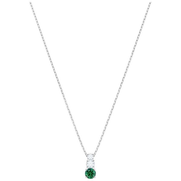Attract Trilogy Ketting Round 5416153 - Groen
