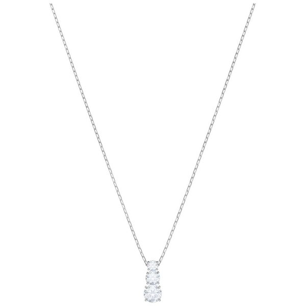 Attract Trilogy Ketting Round 5414970 - Wit