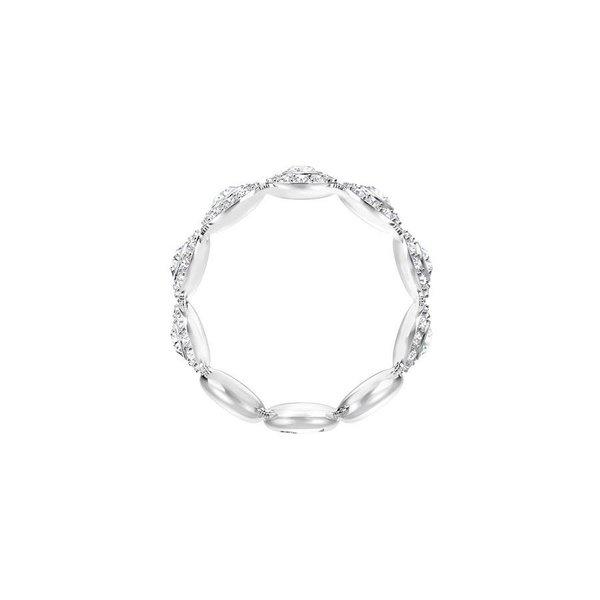 Angelic Band Ring - Crystal/Rhodium